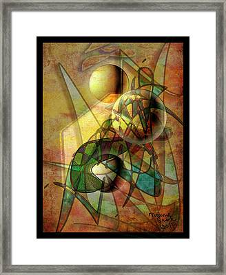 Sound Waves Framed Print by Monroe Snook