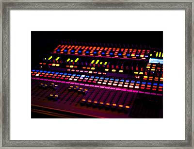 Soundboard Framed Print by Anthony Citro