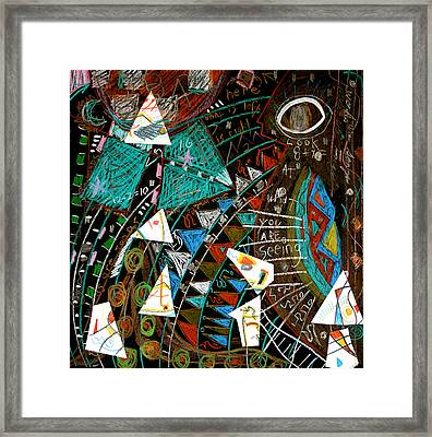 Framed Print featuring the mixed media Source by Clarity Artists