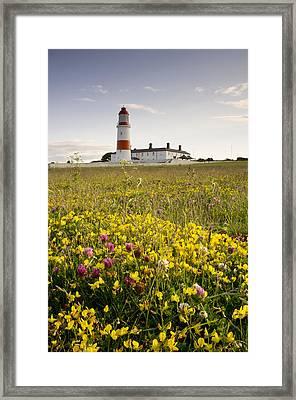 Souter Lighthouse South Shields Marsden Framed Print
