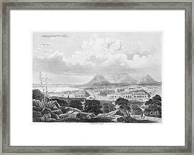 South Africa: Cape Town Framed Print by Granger