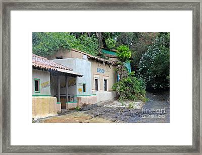 South American Village Framed Print
