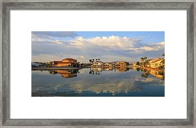South Bullhead Sunrise Framed Print