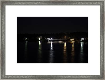 South Carolina Docks Framed Print by Justin Brakeman