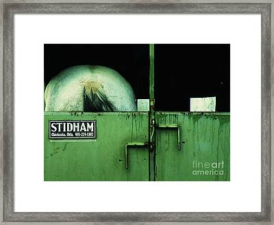 South End - Headed North Framed Print