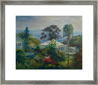 South Laguna Above Pch Framed Print