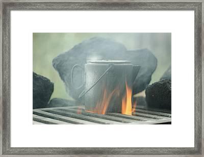 South Lake Framed Print