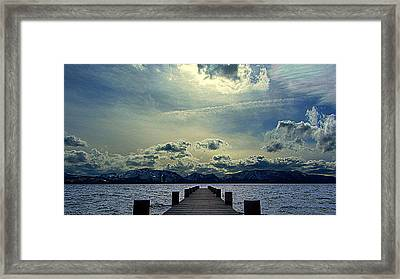 South Lake Tahoe Framed Print by Brad Scott
