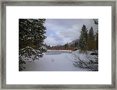South Lake Tahoe Framed Print