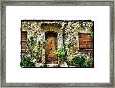 South Of France 1 Framed Print by Mauro Celotti