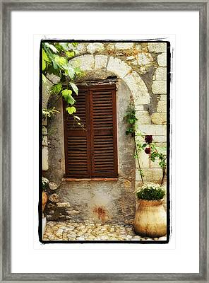 South Of France Framed Print by Mauro Celotti