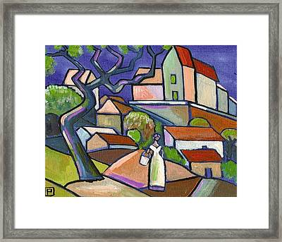 South Of France Framed Print by Peter  McPartlin