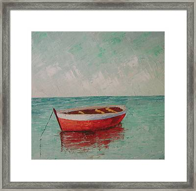 South Of France Saint Tropez Framed Print by Frederic Payet