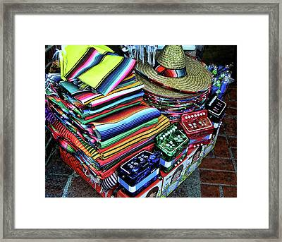 South Of The Border Framed Print by Helaine Cummins