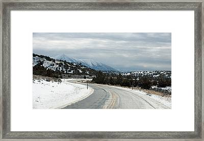 South On Highway 447 Framed Print by Gary Rose