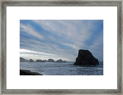 South Oregon Coast Framed Print