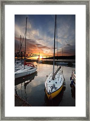 South Queensferry Harbour Framed Print by Keith Thorburn LRPS AFIAP CPAGB