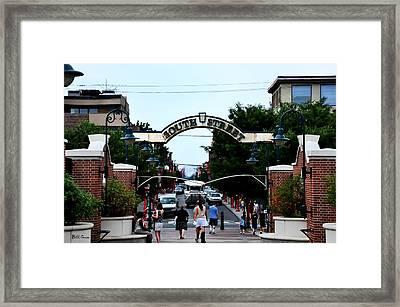 South Street - Philadelphia Framed Print by Bill Cannon
