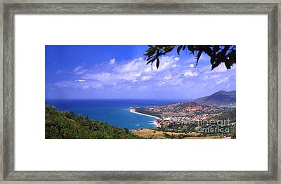 Southeast Coast  Panoramic Route Framed Print by Thomas R Fletcher