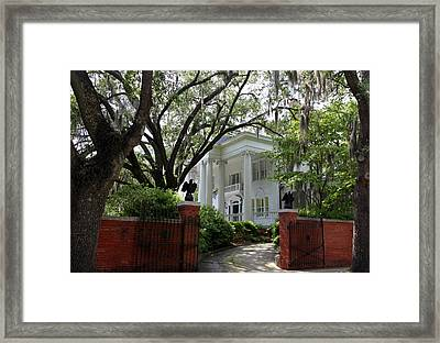 Southern Living Framed Print by Karen Wiles