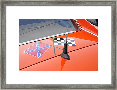 Southern Racing Flags Framed Print by David Lee Thompson