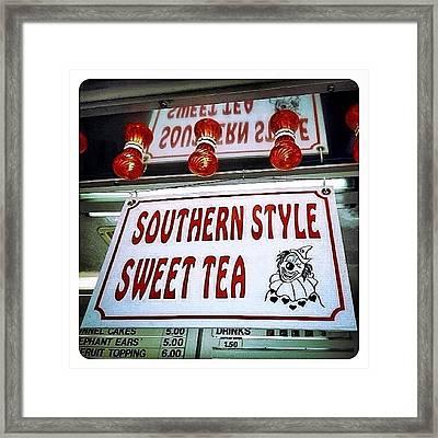 Southern Sweetness Framed Print