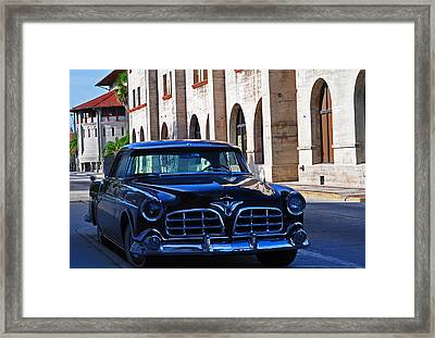 Southern Wheels Framed Print by Peter  McIntosh