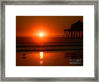 Framed Print featuring the photograph Southside by Everette McMahan jr