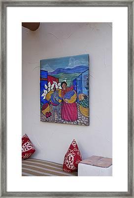 Southwest Art Framed Print by Dietrich Sauer