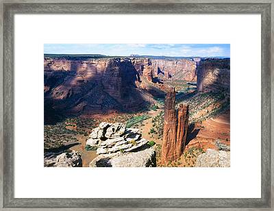Southwest Canyon  Framed Print by George Oze