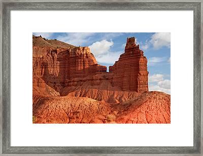 Southwest Desert Scene Framed Print