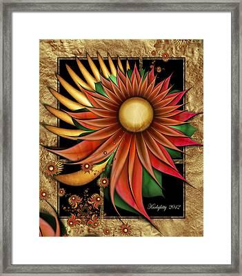 Southwest Sunrise Framed Print
