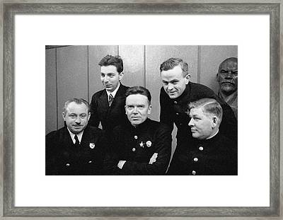 Soviet North Pole-1 Station Crew, 1939 Framed Print by Ria Novosti