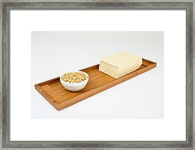 Soy Products Framed Print
