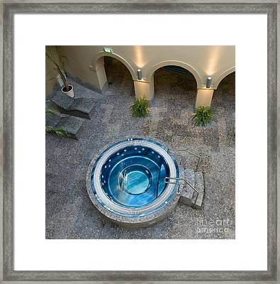 Spa Hot Tub Framed Print by Jaak Nilson
