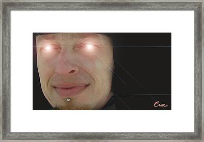 Space Case Levels 004 - 0706 2012 Framed Print by Feile Case