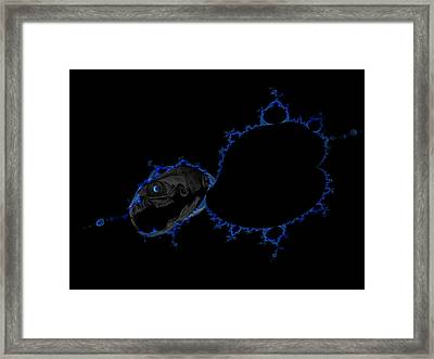Space Mouse Framed Print by Nafets Nuarb