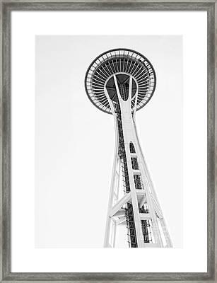 Space Needle II Framed Print by Billie-Jo Miller