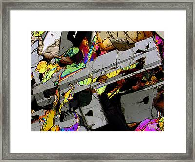 Space Revolver Framed Print