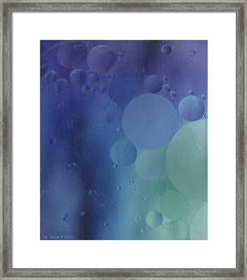 Space Shot Framed Print