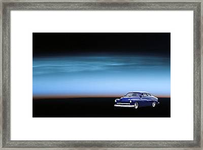 Space Sled Framed Print by Bill Dutting