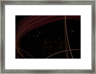 Space Traveler Framed Print by Dean Bennett