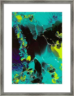 Space Vines Framed Print by Nan Bilden