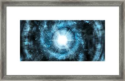 Space006 Framed Print