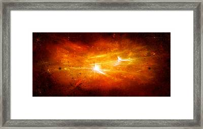 Space008 Framed Print