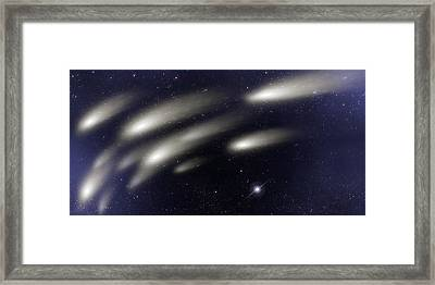 Space011 Framed Print