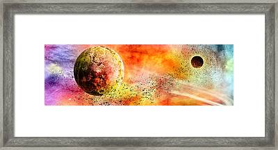 Space013 Framed Print