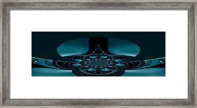 Framed Print featuring the photograph Spacecraft Fantasy by Robert Kernodle
