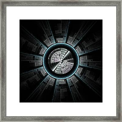 Spaceship  Framed Print by Kim French