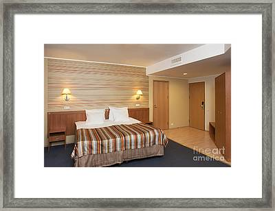 Spacious Hotel Room Framed Print by Jaak Nilson
